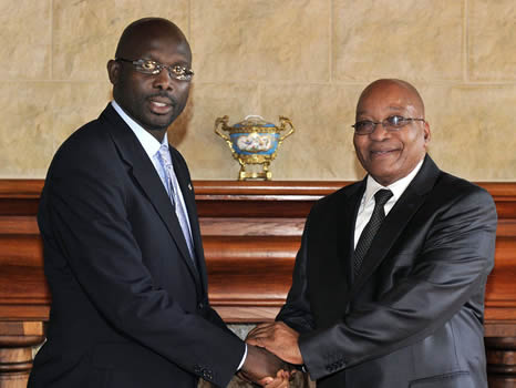 George Weah élu Chef d'Etat du Libéria