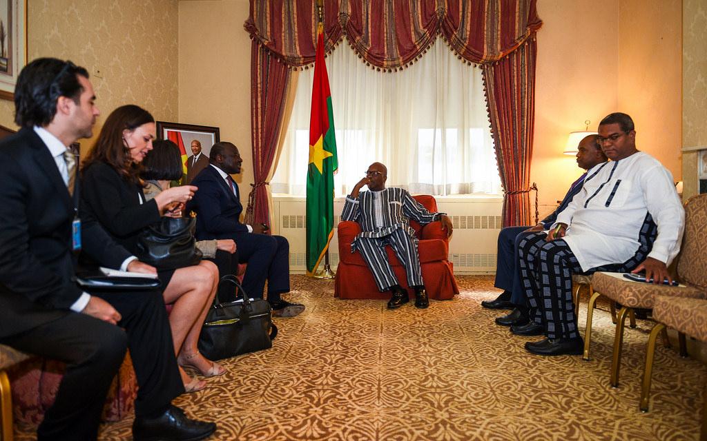 Le Président Burkinabé était bien allé réparer la climatisation