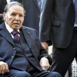 Abddelaziz Bouteflika, le président d'Algérie, dans son fauteuil roulant