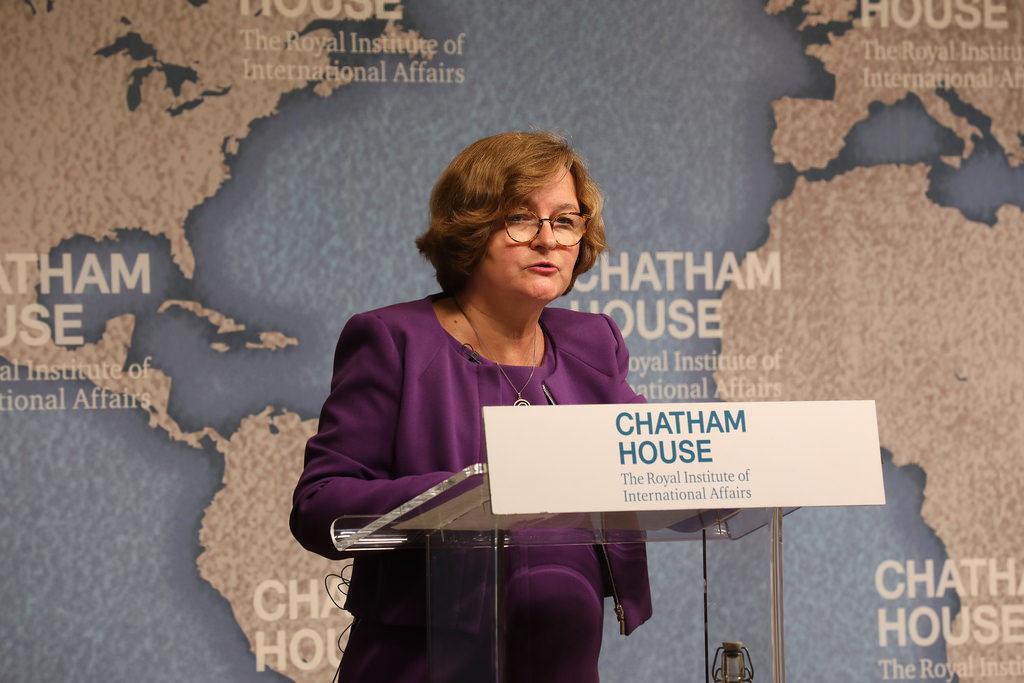 Nathalie Loiseau, ministre des Affaires étrangères et candidates aux Européennes