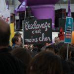 Manifestation de la Fête du Travail (1er Mai) en France