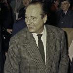 Jacques Chirac lors de l'affaire des emplois fictifs du RPR