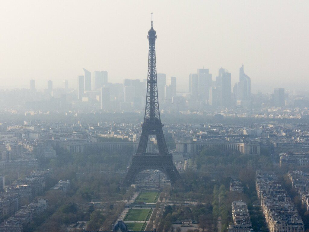 Forte pollution mesurée à Paris