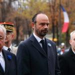 Gérard Larcher, Edouard Philippe et François de Rugy