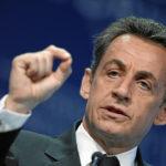 Nicolas Sarkozy, lors des commémorations du Novembre