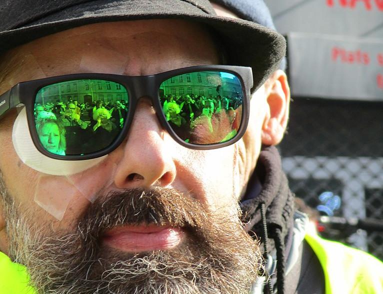 Pour fuir les violences policières, Jérôme Rodrigues demande l'asile politique en Russie