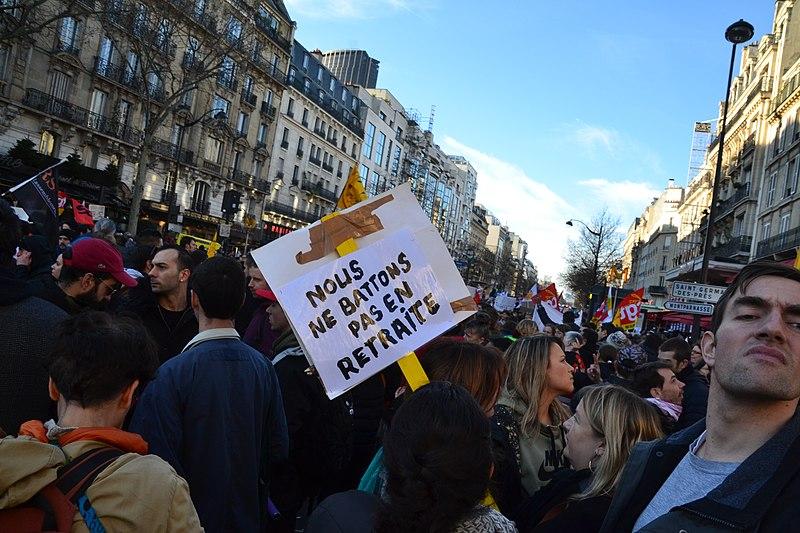 """Mobilisation contre la réforme des retraites : """"Nous, tout ce qu'on veut c'est avoir les moyens d'être de droite"""""""
