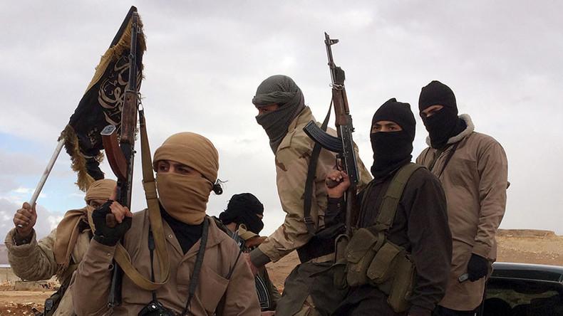 Front Al Nosra (rebelles ayant prêté allégeance à Al Qaïda) lors de la bataille d'Alep