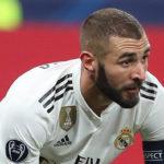 Karim Benzema sous le maillot du Real Madrid