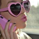 Lunettes pour voir la vie en rose