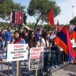 Commémoration du génocide arménien par l'Empire Ottoman à Erevan