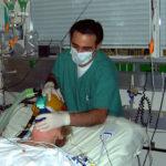 Lit de réanimation en hôpital