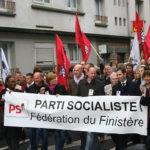 Manifestation du parti socialiste