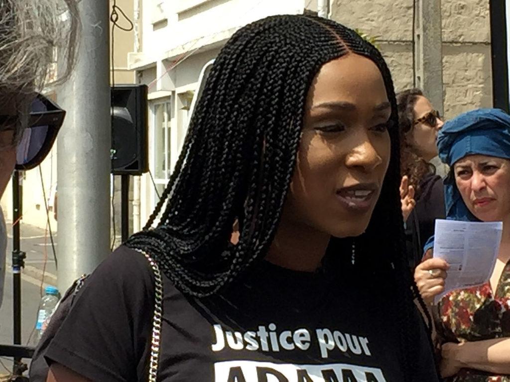 Assa Traoré, leader du comité Adama