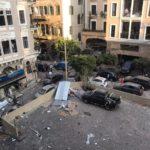 Explosion dans le port de Beyrouth (Liban)