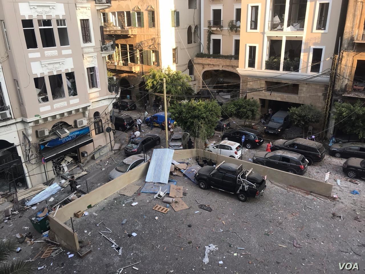 """L'UE à propos de Beyrouth : """"C'est ce qui arrive quand on ne privatise pas ses ports"""""""