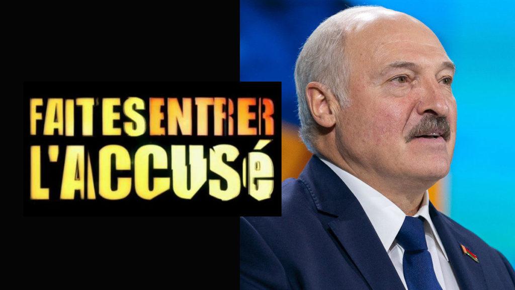 Faites Entrer L'Accusé sur Loukachenko