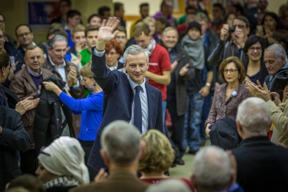 Bruno Le Maire, ministre de l'Économie et comique