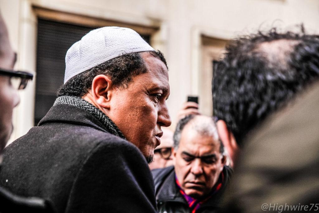 L'Imam Cde Drancy, Hassen Chalghoumi, en 2015