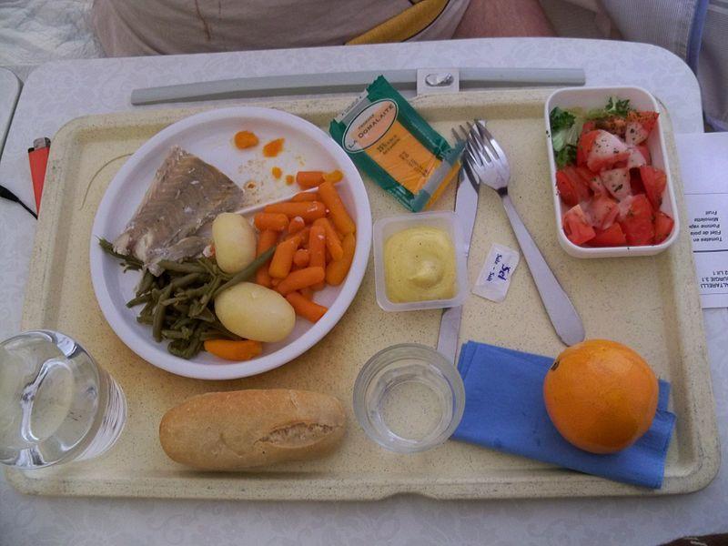 Exemple d'un plateau repas végétarien tel qu'il sera bientôt servi dans les cantines de la métropole de Lyon