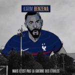 """Extrait du clip de Youssoupha """"Écris mon nom en bleu"""" annonçant le retour de Karim Benzema en Équipe de France"""